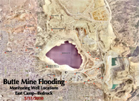 Butte Mine Flooding-East Camp-Bedrock