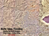 Butte Mine Flooding-West camp-Outer Camp