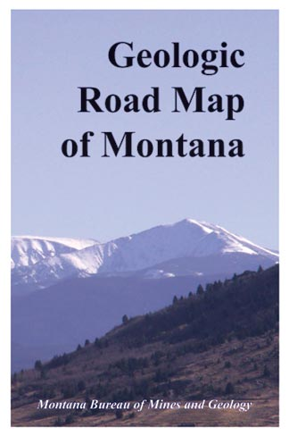 Geologic Road Map of Montana